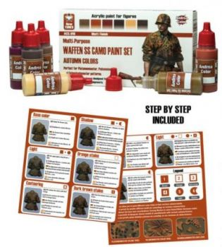 Waffen Camo Paint Set Autumn Colours