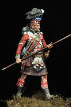 Sergeant 79th Cameron Highlanders, Napoleonic Wars