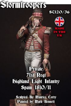 Private 71st HLI Spain 1810/11